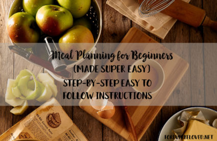 Meal Planning for Beginners {made super easy}